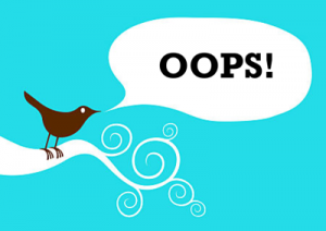 Twitter-Oops