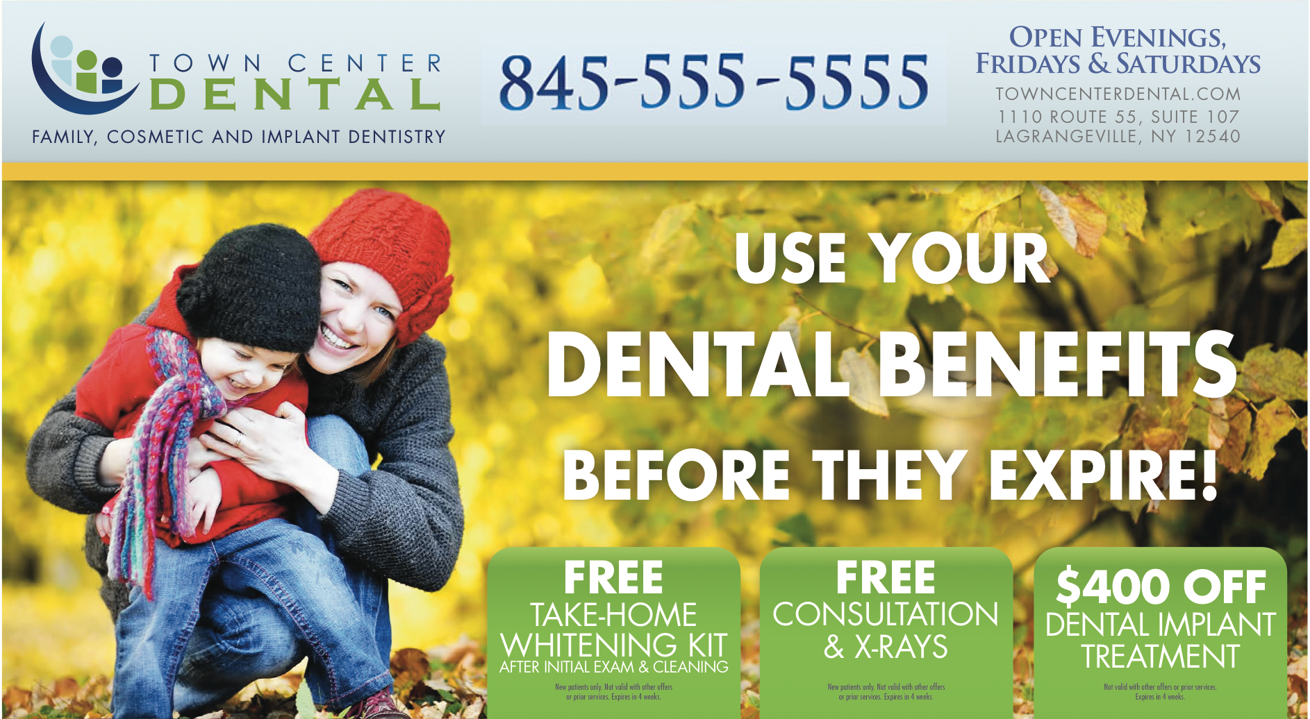 Custom Dental Postcard Design by DentalMarketing.net