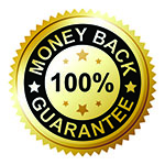 Money Back Guarantee Seal - 150x150