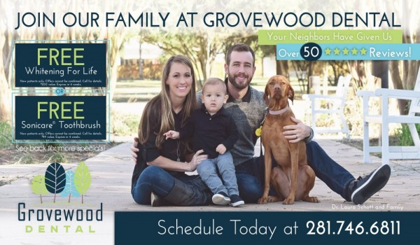 Grovewood dental postcard example