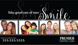 Dental Advertising Postcard – 3
