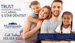 Dental Postcard Sample – 11
