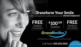 Dental Postcard Advertising – 16