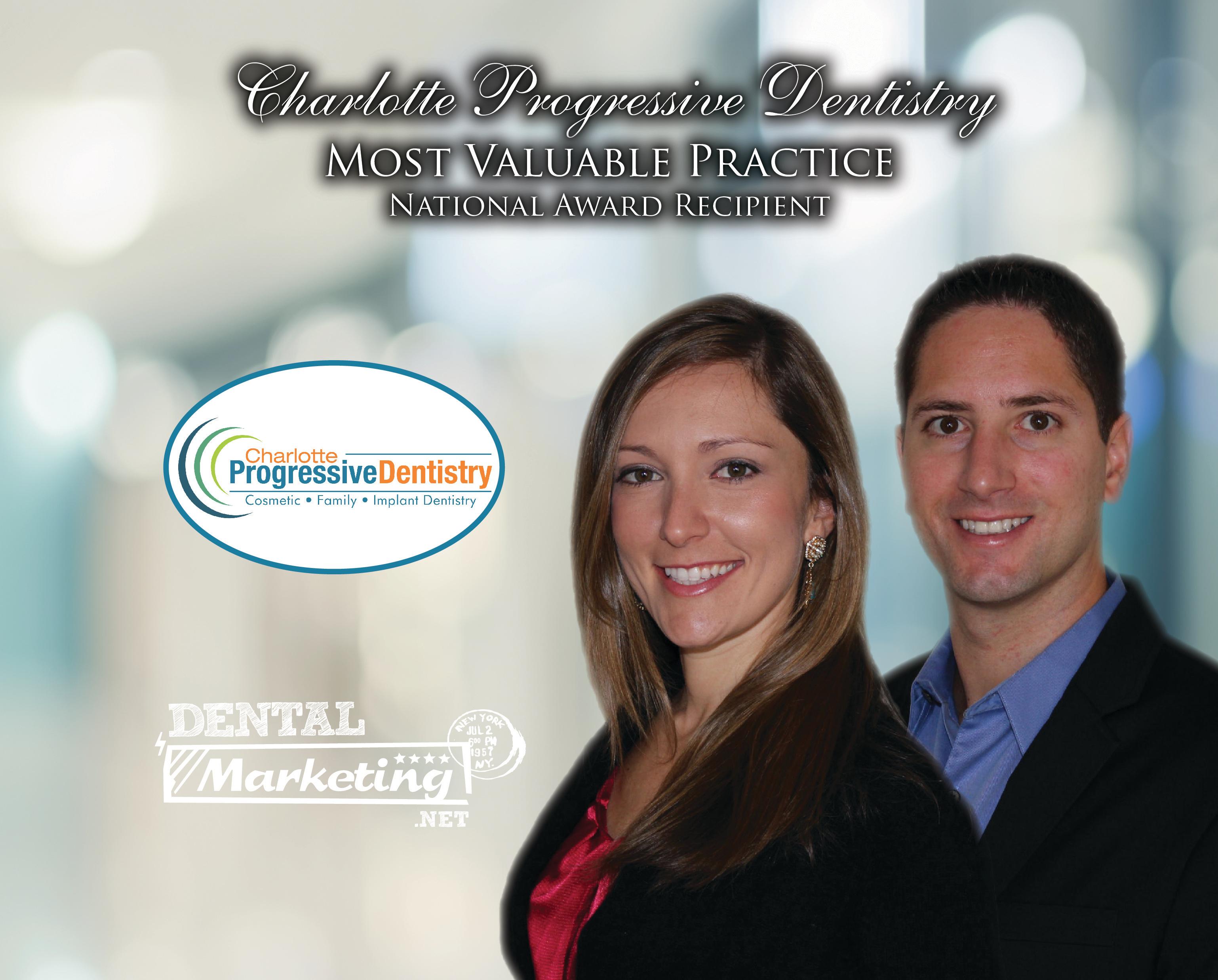 Charlotte Progressive Dentistry MVP Award