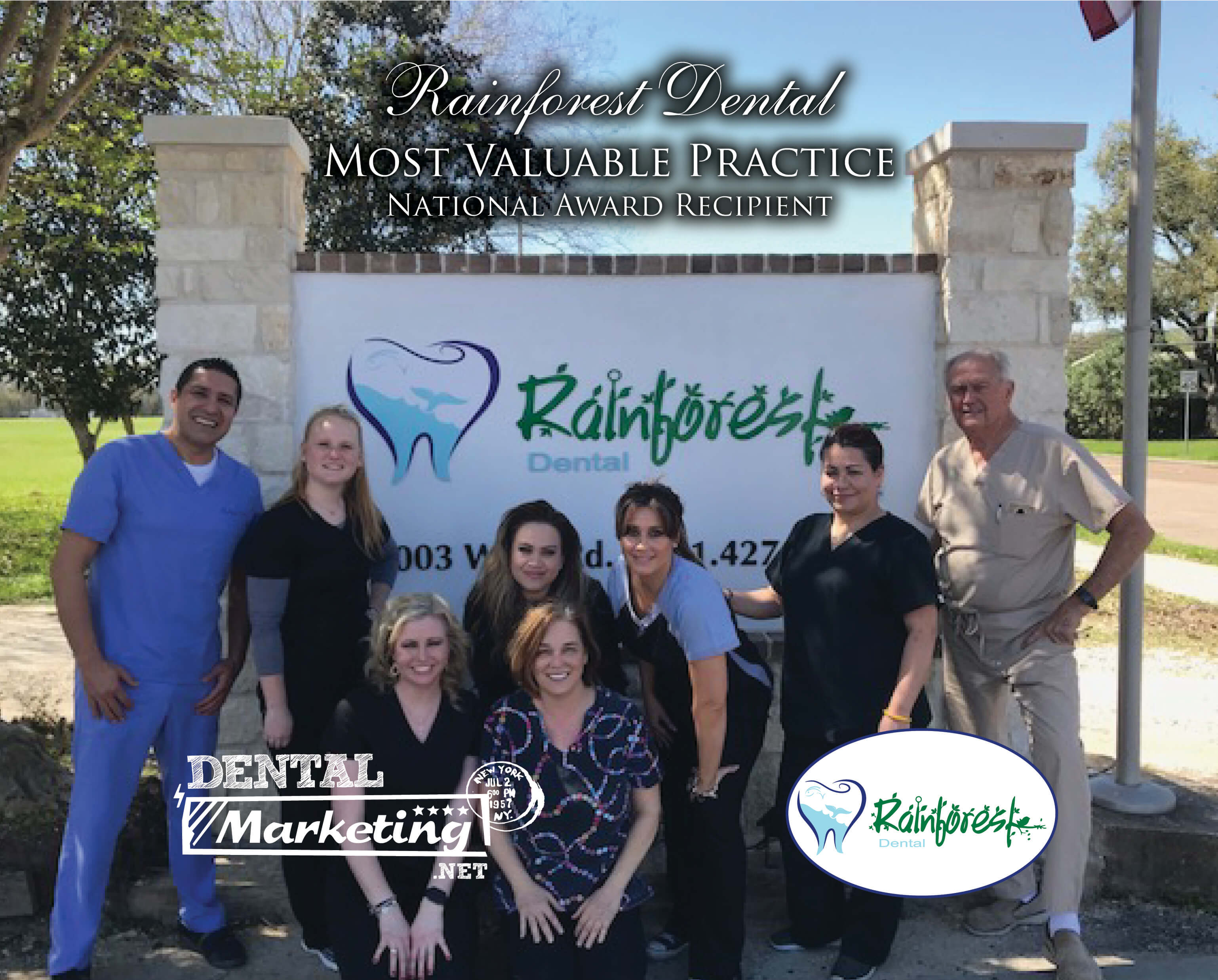 Rainforest Dental Staff